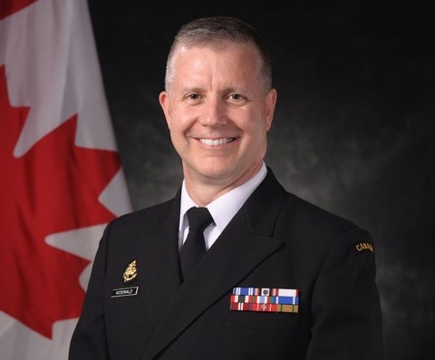 Rear Admiral Art McDonald, Commander of Maritime Forces Pacific, Royal Canadian Navy