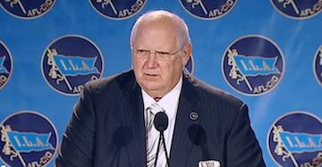 ILA President Harold Daggett