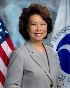 US Secretary of Transportation Elaine L. Chao