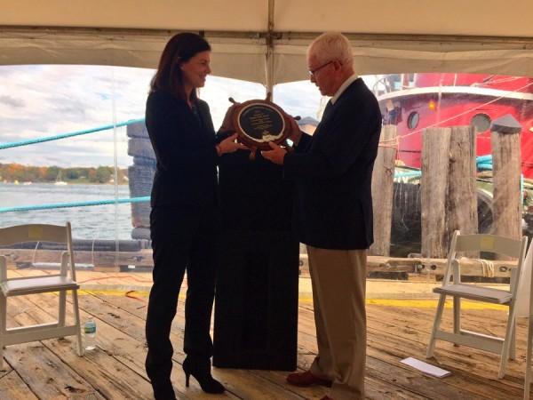 Senator Ayotte Receives Champion of Maritime Award