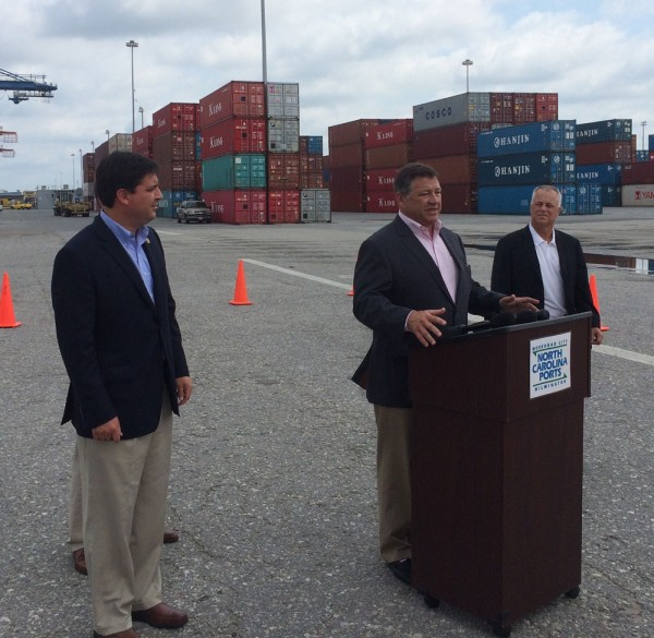 Chairman Shuster speaking in Wilmington, NC