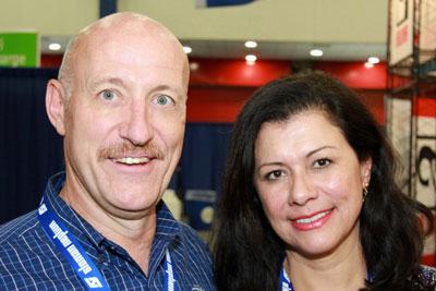 UTC Vice Presidents Dean Temple and Martha Rojas