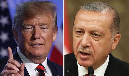 President Donald Trump, Turkish President Recep Tayyip Erdogan