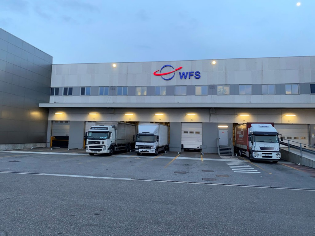 WFS handles 11 airline customers at its cargo terminal in Milan Malpensa.