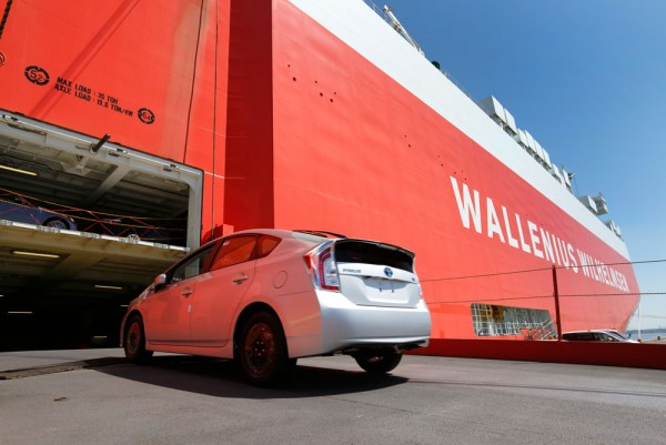 Wwl awarded new ocean service contract from japan to north for Toyota motor company usa