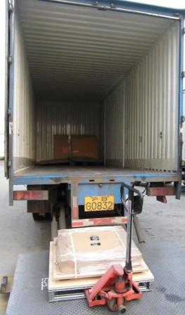 Yusen Logistics' vibration-control pallets protect freight from sudden impacts, regardless of road conditions.