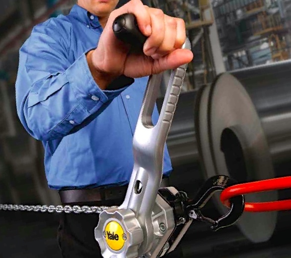 The Yale Ergo 360 ratchet lever hoist is suited to pulling, securing and lifting applications.