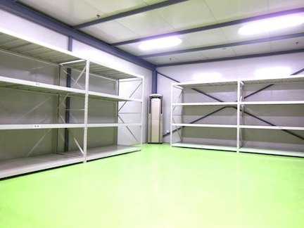 Yusen Logistics installed a temperature- and humidity-controlled system in its 16,404-square