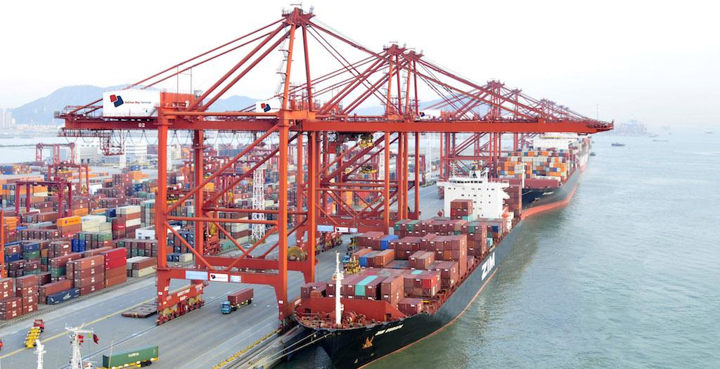 DaChan bay Modern container terminal
