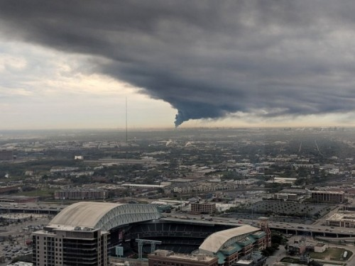 Water Storage Tanks >> Houston Chemical Fires to Rage for Days Until Fuel Burns ...