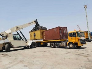 BSMG handles cargo at the Port of Nouadhibou