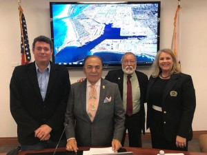 Commissioner Herrera takes helm at Oxnard Harbor District
