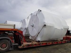 Denholm Global Logistics delivers Italian drums to UK