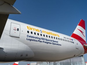Austrian Airlines and time:matters take off on the 100th cargo flight