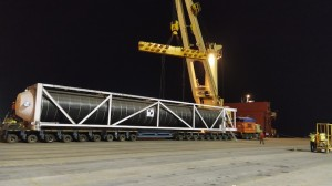 Express Global Logistics (EXG) manages critical heavy cargo from India to UAE