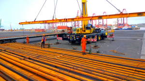 Total Movements delivered 50,000 m rail lines to Pune Metro project