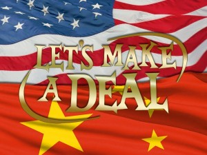 China and US play out Let's Make A Deal