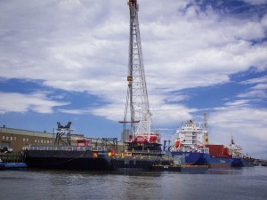 Port of Albany – Working in break bulk and project cargo