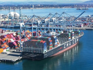 FourKites data on Ports of Los Angeles and Long Beach show import spike