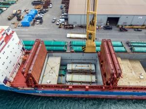Ports of Indiana enhancing facilities at US crossroads