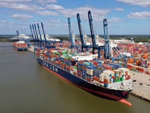 Port of Charleston's big-ship capabilities growing with new terminal, deeper harbor