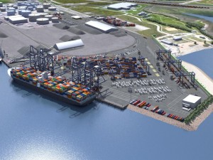 St. Lawrence River two-container port concept under threat?