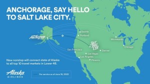 Alaska Airlines adds new nonstop service between Anchorage and Salt Lake City