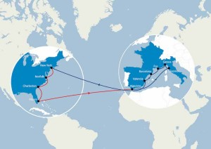CMA CGM to temporarily replace Savannah by Charleston on its AMERIGO service connecting West Med to the US East Coast
