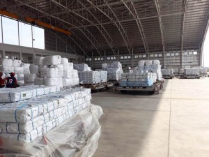 Air Charter Service helps to fly in more than 600 tons of relief goods to Indonesia