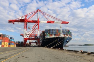 Port of Halifax welcomes largest containerized cargo vessel call a Canadian port