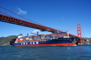 Port of Oakland welcomed CMA CGM's first call Asia service