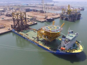 BigLift Shipping and Chung Yang Shipping cooperate in heavy transport