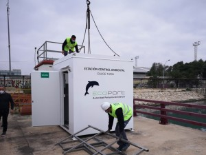 The Port of València installs two new environmental quality and control cabins