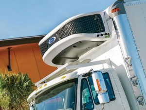 """New-Generation Truck Refrigeration Unit from Carrier Transicold Boasts """"Supra"""" Powers"""