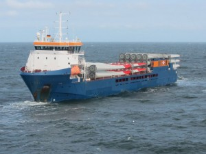 Green Shipping Line proposes U.S. feeder ships to deliver components to offshore wind farms using U.S. Atlantic Coast ports