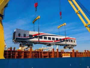 DHL Industrial Projects is on track with a historic move of 676 passenger coaches across continents