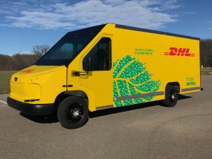 DHL expands green fleet with addition of new electric delivery vans