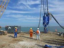 Damen DOP250 dredge pumps on Brazilian harbour construction project