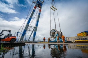 Hendrik Veder Group helps Saipem with offshore project in Baltic Sea