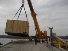 Large rotors and stators move through Eastern Europe