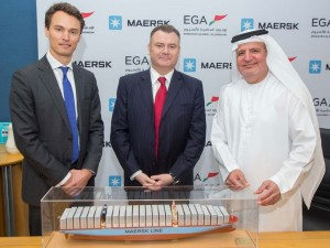 EGA signs volume commitment agreement with Maersk for worldwide aluminium shipping