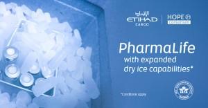 Etihad Cargo expands dry ice capabilities for enhanced global vaccine distribution