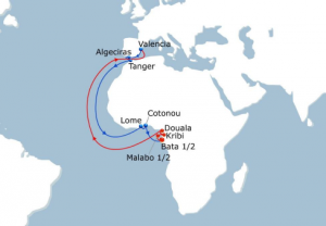CMA CGM EURAF Service improvement to Cameroon and Gabon
