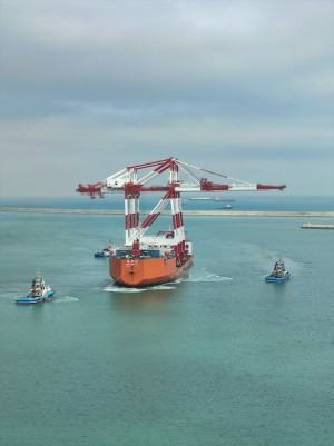 BEST consolidates its position as Mega Terminal with two new cranes