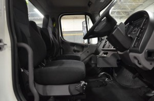 Fontaine Modification engineers right-hand drive conversion for Freightliner M2 trucks