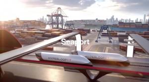 HyperloopTT and HHLA reveal HyperPort™