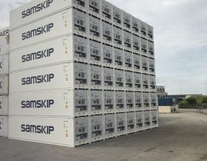 Samskip Selects Globe Tracker for Reefer IoT Solution
