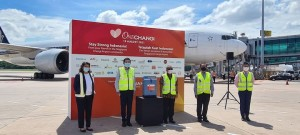 CEVA Logistics supports Indonesia COVID-19 relief efforts, transporting oxygen concentrators