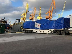 Mobile Substation sails from Indonesia to Paraguay