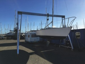 Lifting is plain sailing with Reid Gantry Crane